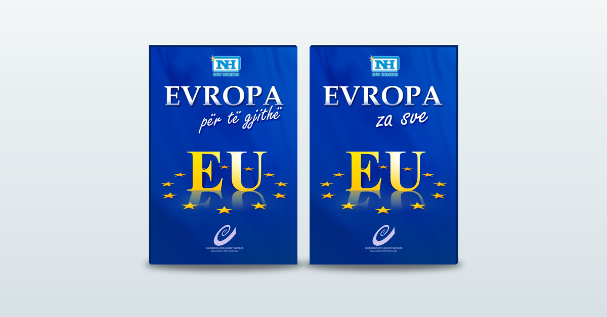 "Brochure ""Europe for All"""