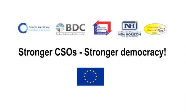 Qendër Burimore për mbështetjen e organizatave lokale të shoqërisë civile