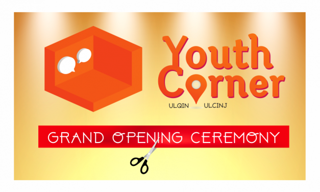 "Completion of the project ""Youth Corner in Ulcinj"""