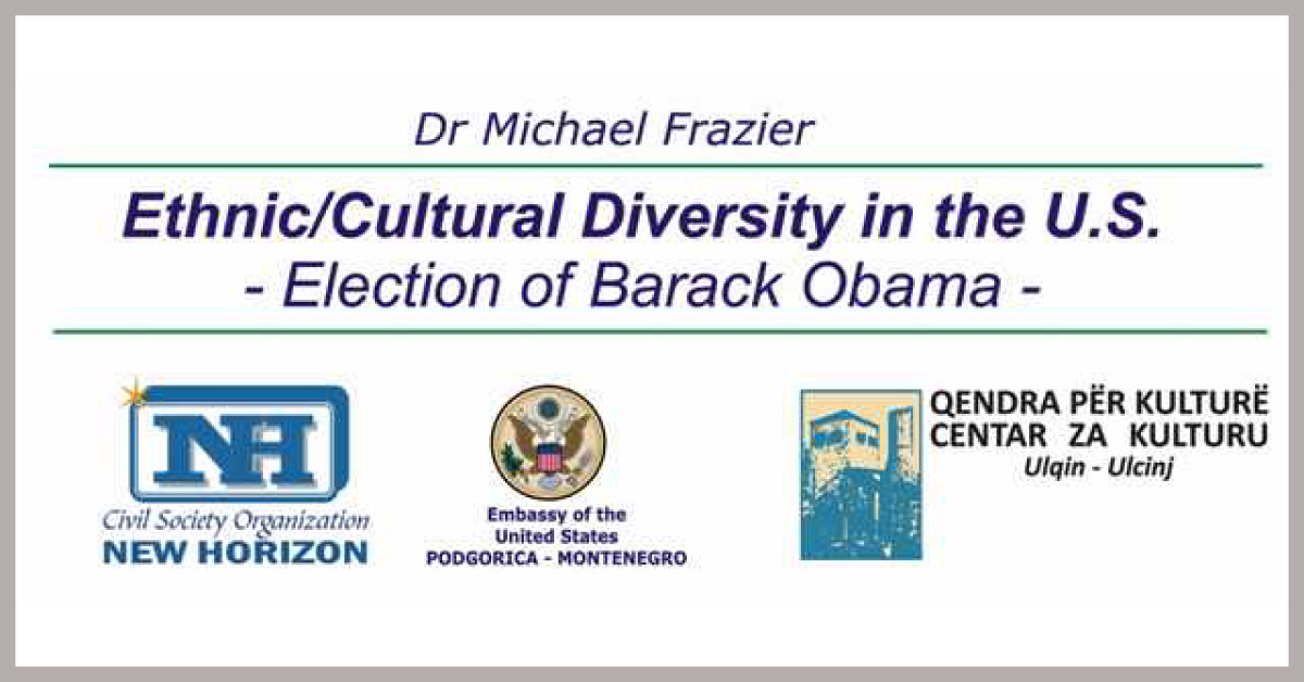 Ethnic Cultural Diversity in the U.S. – Election of Barack Obama