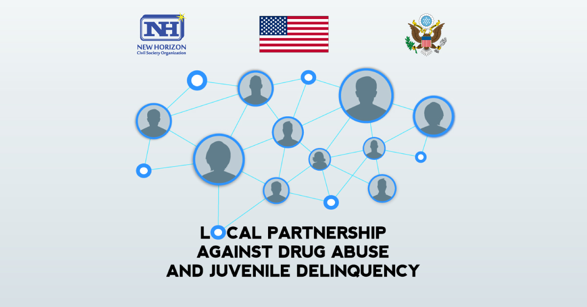 Local partnership against drug abuse and juvenile delinquency