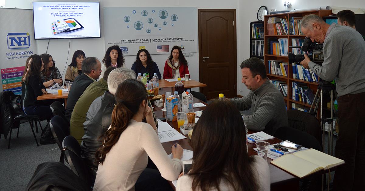 Konferencë për media – Prezantimi i rezultateve të hulumtimit për problemin e narkomanisë