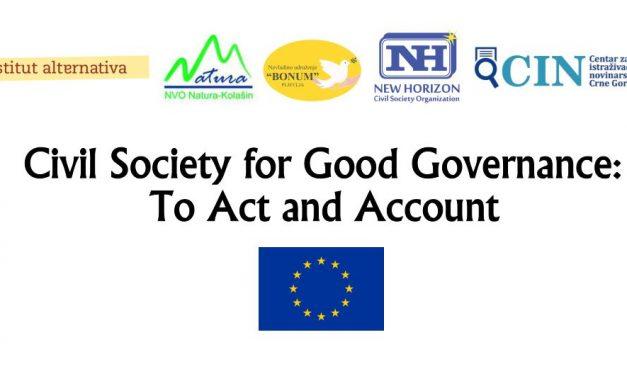 Civilno društvo za dobru upravu