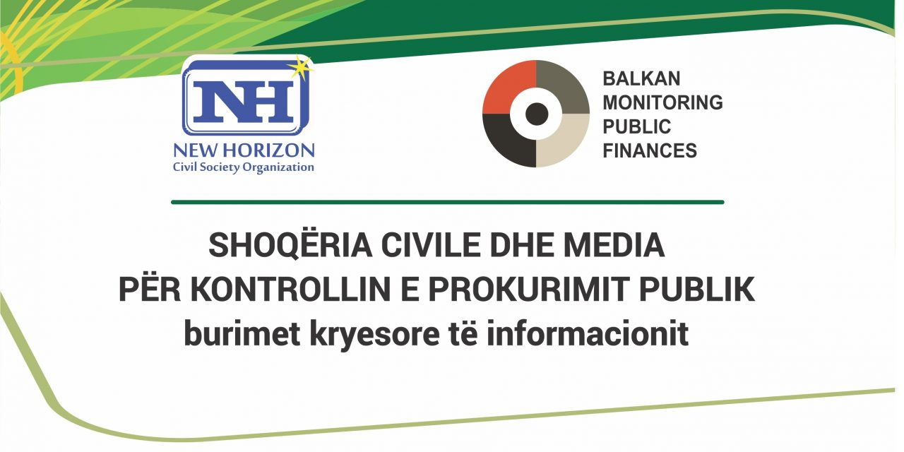 CIVIL SOCIETY AND MEDIA ON PUBLIC PROCUREMENT CONTROL