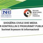 CIVIL SOCIETY AND MEDIA ON PUBLIC PROCUREMENT CONTROL