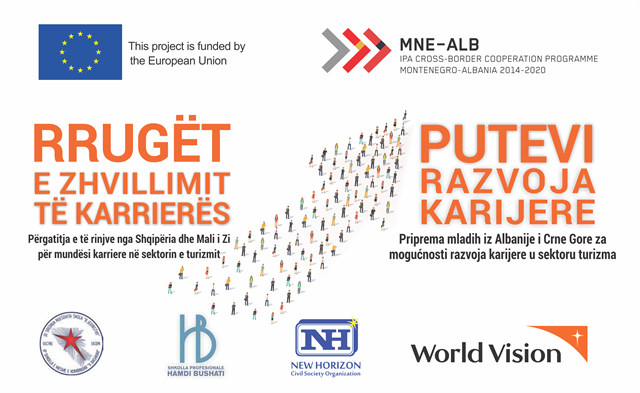 Pathways to Career Development(PCD): Preparing Albanian and Montenegrin Youth for Career Opportunities in the Tourism Sector